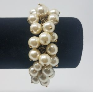 J. Crew Beaded Stretch Bracelet